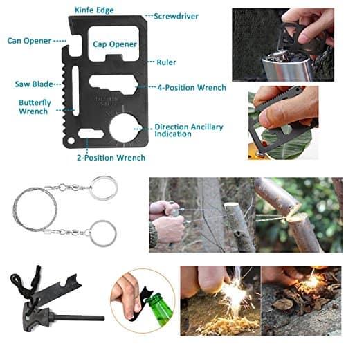 Sansido Emergency Survival Kit